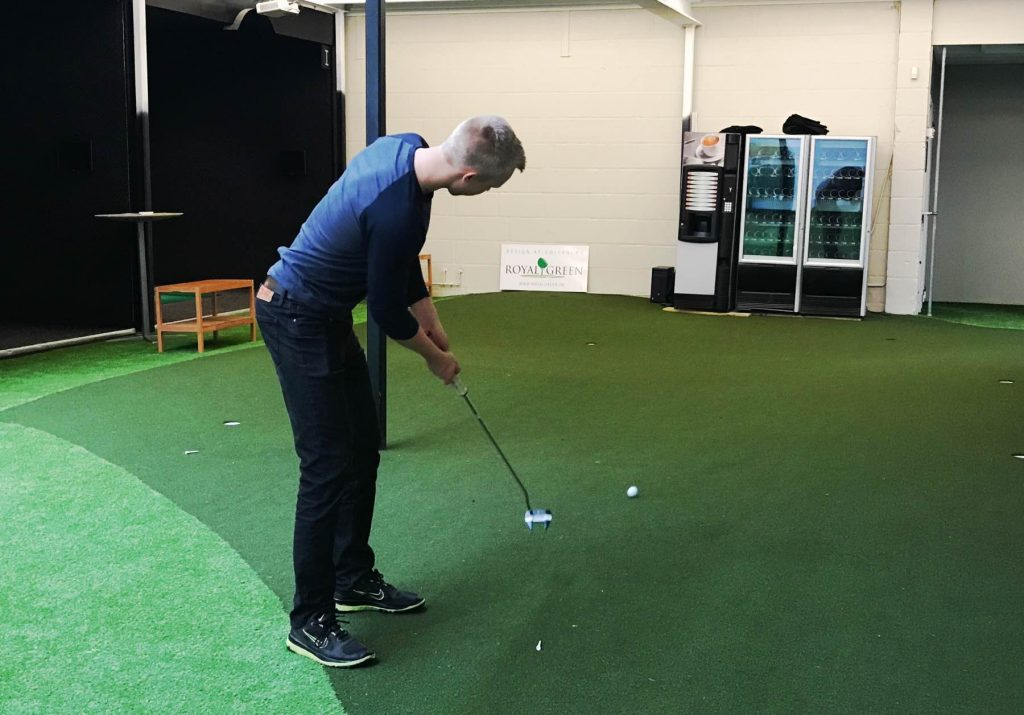 Putting green Indoor Golf Kokkedal